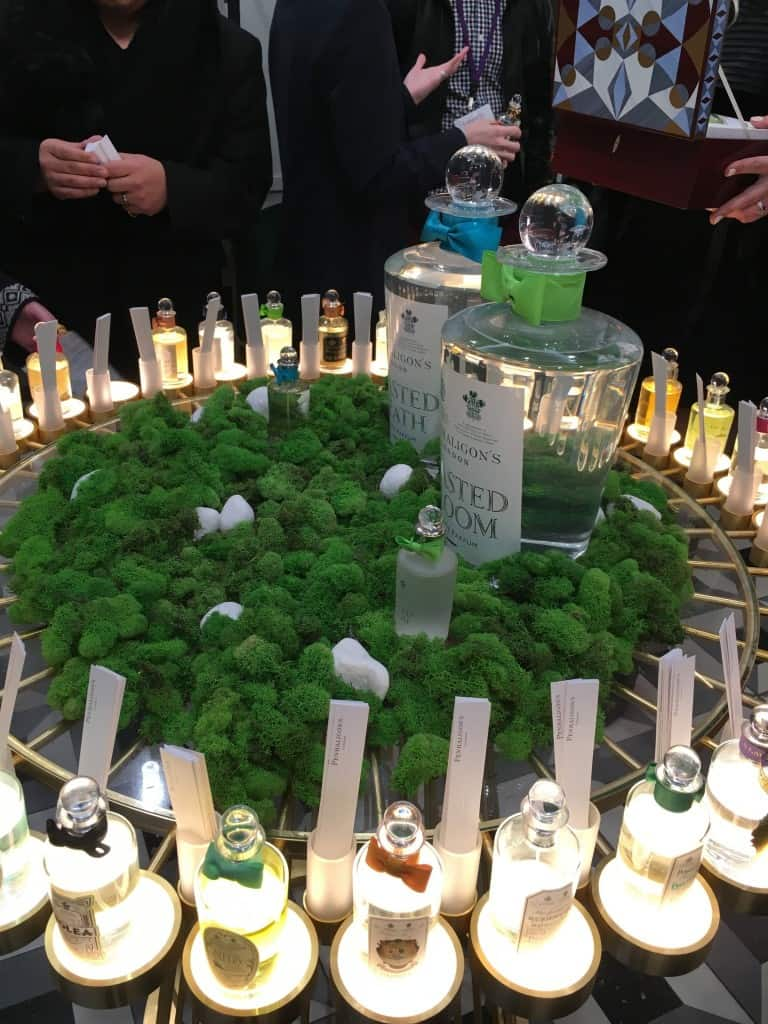 Penhaligon's brand new Rockefeller Center Boutique