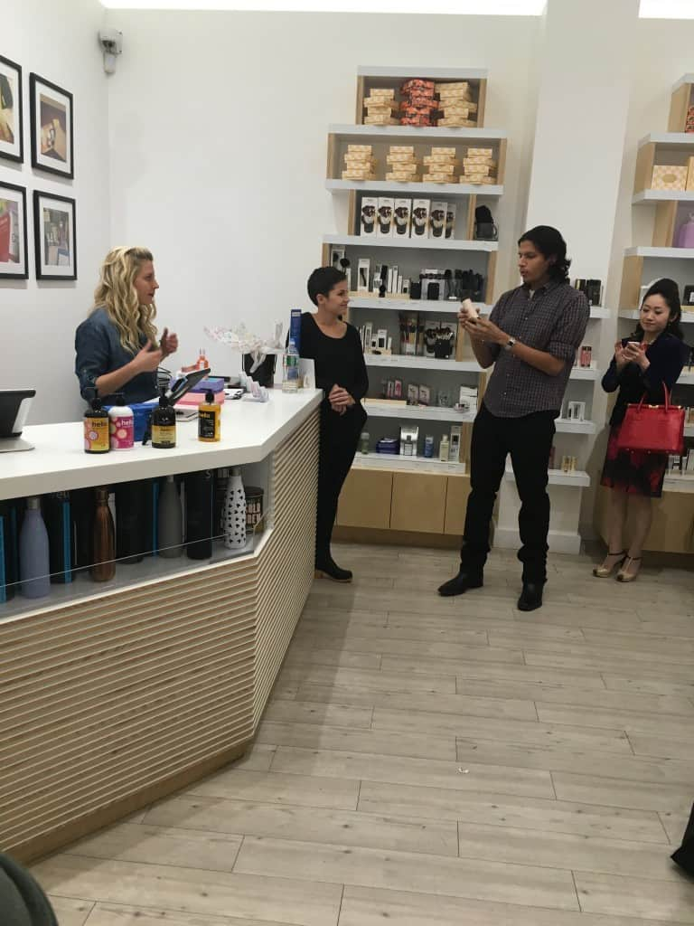 Sunday at Birchbox Soho! Karthik presents Harvey Prince Fragrances