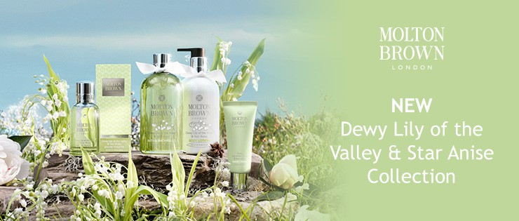 Molton Brown_Dewy Lily of the Valley & Star Anise Collection